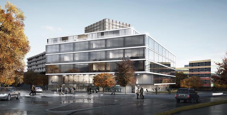 Labor- und Forschungsgebäude D-BSSE, ETH Zürich